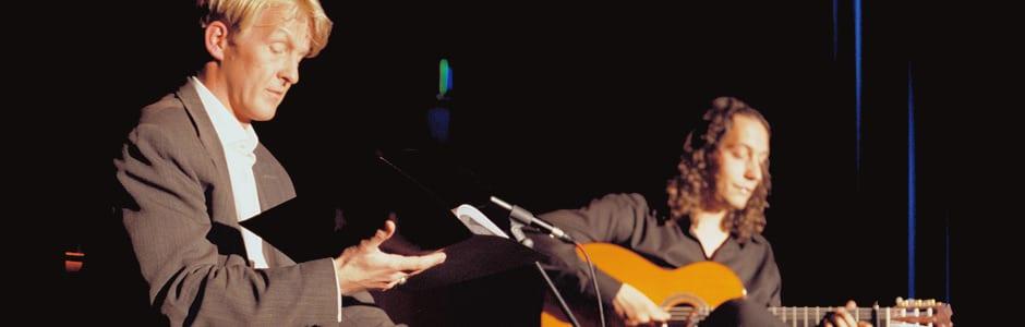 """Lesung """"Don Quijote"""" mit Flamencogitarre"""