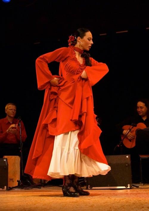 Iris Caracol beim Flamencofestival